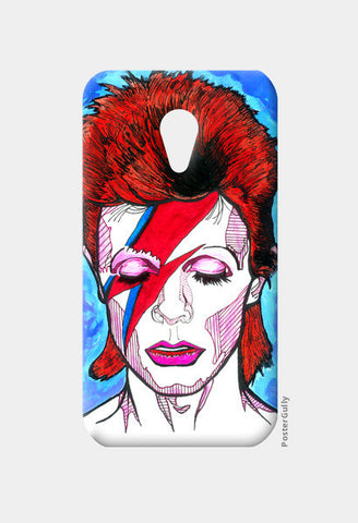 David Bowie - From Starman to Stardust Moto G2 Cases | Artist : Pop Goes The Easel