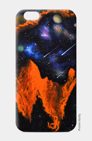 Planets and Shooting Stars iPhone 6/6S Cases | Artist : Aashna Aasif