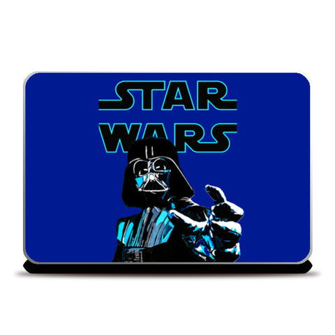 Darth Vader, Star Wars illustration Laptop Skins | Artist : Aninya Gangal