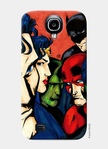 Samsung S4 Cases, JLA fan art Samsung S4 Cases | Artist : Monisha Miriam, - PosterGully
