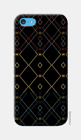 Pattern design in black iPhone 5c Cases | Artist : Amar Singha