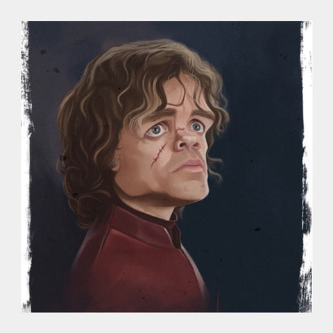 Square Art Prints, Peter Dinklage - Caricature Square Art Prints | Artist : Dharmesh Prajapati, - PosterGully
