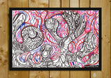 Brand New Designs, Abstract Sea Octopus Art | Artist: Needhi Dhoker, - PosterGully - 2