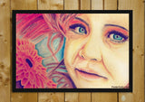 Wall Art, Blue Eyed Girl Artwork | Artist: Zeeshan Ansari, - PosterGully - 2