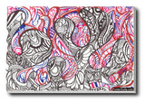 Brand New Designs, Abstract Sea Octopus Art | Artist: Needhi Dhoker, - PosterGully - 3