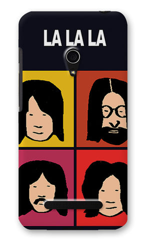 Beatles La La La Pop Art | Asus Zenfone 5 Cases