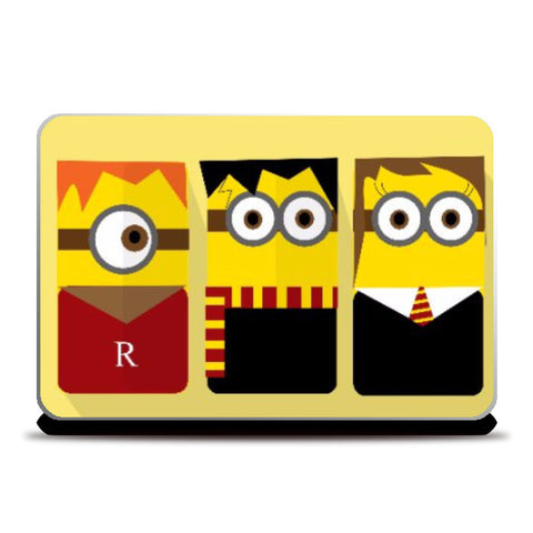 Laptop Skins, Harry Potter Minions Laptop Skin | Artist Sarbani Mookherjee, - PosterGully