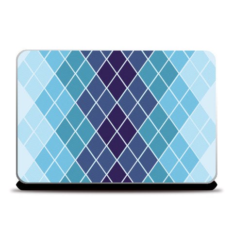 Diamond Stripes Abstract Prin Laptop Skins | Artist : Amantrika Saraogi