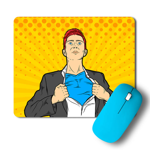 Popart Superhero Mousepad