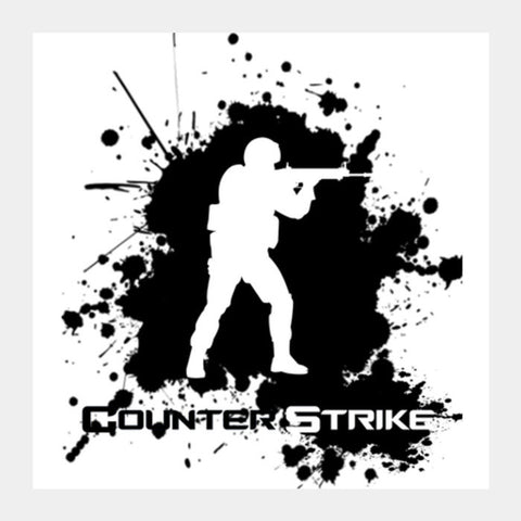 Counter Strike | CS GO Square Art Prints | Artist : Stoned_arse_design