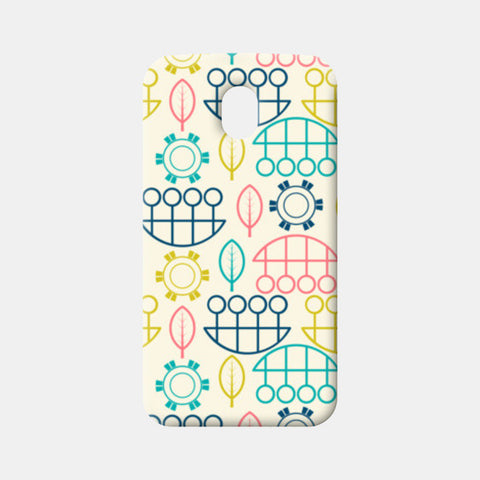 Multicolored art design vector pattern Moto G3 Cases | Artist : Designerchennai