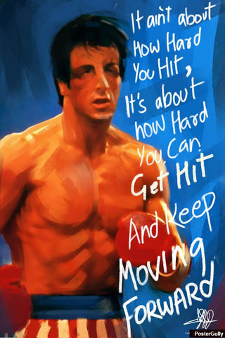 Wall Art, Rocky Artwork | Artist: Parakram Elisha Ram, - PosterGully - 1