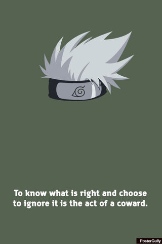 Wall Art, kakashi Artwork | Artist: Vibhu Agrawal, - PosterGully - 1