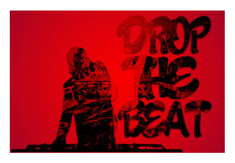 Drop The Beat Wall Art  | Artist : Ajay Seth