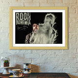 Premium Italian Wooden Frames, Bohemia Rooh Premium Italian Wooden Frames | Artist : Vikram Ghattora, - PosterGully - 5