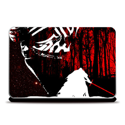Laptop Skins, KYLO REN MINIMAL ARTWORK laptop skin from STAR WARS :THE FORCE AWAKENS  Laptop Skins | Artist : Raikchak Reang, - PosterGully