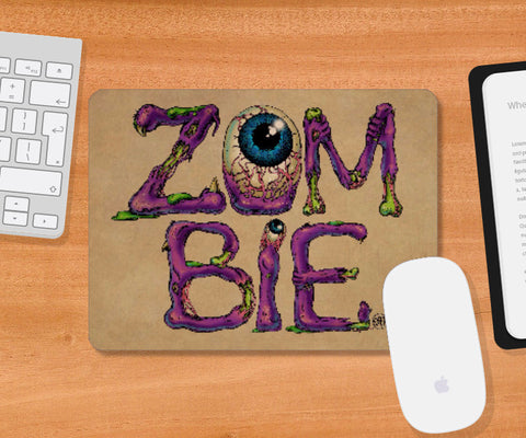 Mousepad, Zombie Mousepad | Artist: Monisha Miriam, - PosterGully