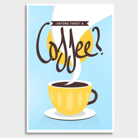 coffee art  Giant Poster | Artist : Fariya Arts