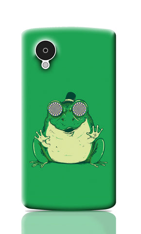 Nexus 5 Cases, Hynogenic Toad Green Nexus 5 Case | By Captain Kyso, - PosterGully