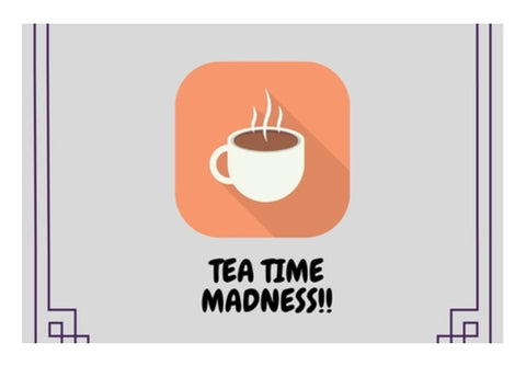 Tea Time Madness Wall Art  | Artist : Pallavi Rawal
