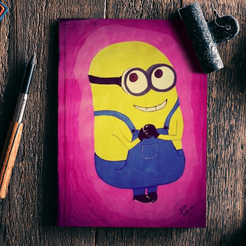 Minion Painting Notebook | Artist : Pallavi Rawal