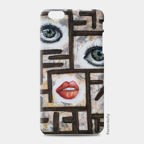 Maze behind my face iPhone 6 Plus/6S Plus Cases | Artist : Anitha Vallikunnel