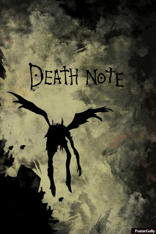 Wall Art, Death Note Artwork | Artist: Karan Mehta, - PosterGully