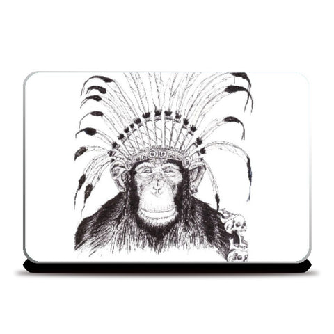 Laptop Skins, King Ape Laptop Skin | Artist: Vinayak Dasari, - PosterGully