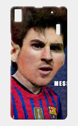 Messi Barcelona Lenovo K3 Note Cases | Artist : ASHUTOSH RAI