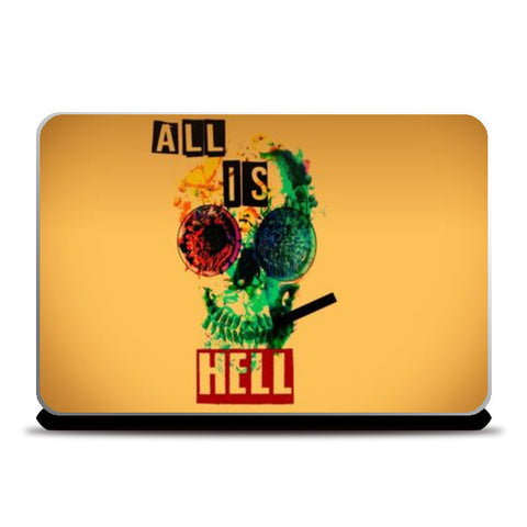 Laptop Skins, hell boy cover Laptop Skins | Artist : nilesh gupta, - PosterGully