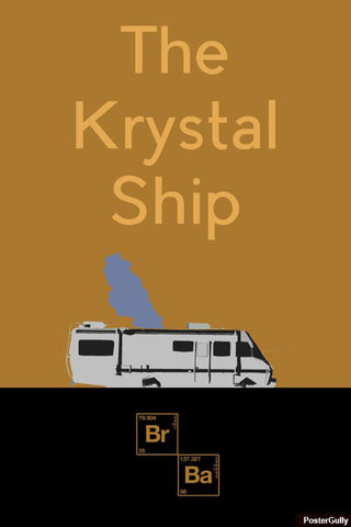 Brand New Designs, The Krystal Ship Artwork | Artist: Vibhu Agrawal, - PosterGully - 1