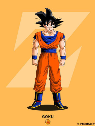 Brand New Designs, Goku Artwork | Artist: Siladityaa Sharma, - PosterGully - 1