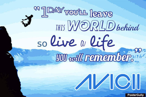Brand New Designs, Avicii Artwork | Artist: Pratyaksh Prajapati, - PosterGully - 1