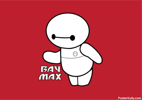 Wall Art, Baymax Artwork | Artist: Jaiwant Pradhan, - PosterGully - 1