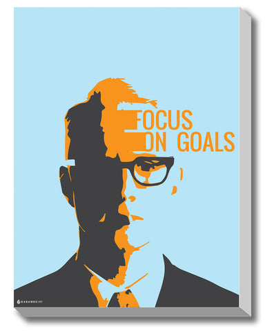 Gabambo, Focus on Goals | By Gabambo, - PosterGully - 1
