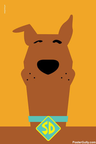 Wall Art, Scooby-Doo Artwork | Artist: Artboard Box, - PosterGully - 1