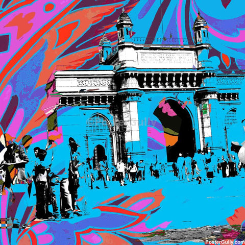 Brand New Designs, Gate Of India Artwork | Artist: Pradeesh K, - PosterGully