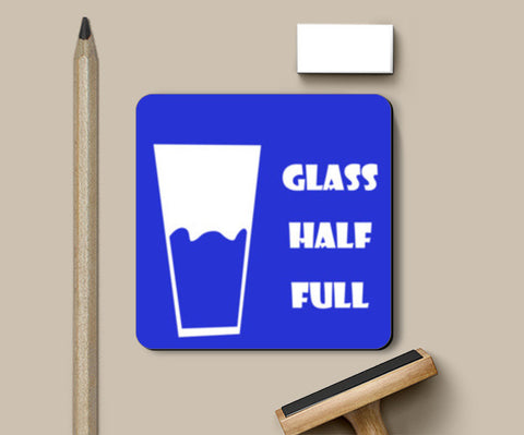 Glass half full Coasters | Artist : Anagha Varma
