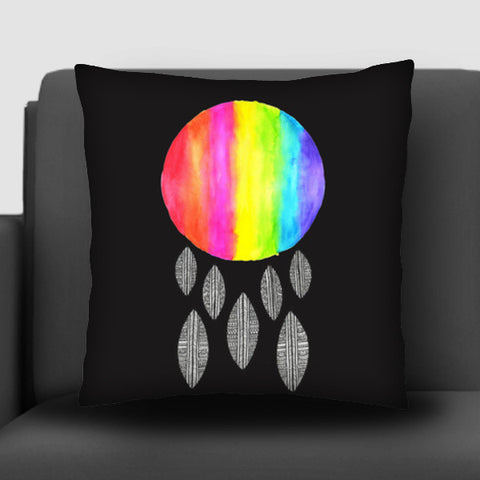Rainbow Drops Cushion Covers | Artist : Suchita Pande