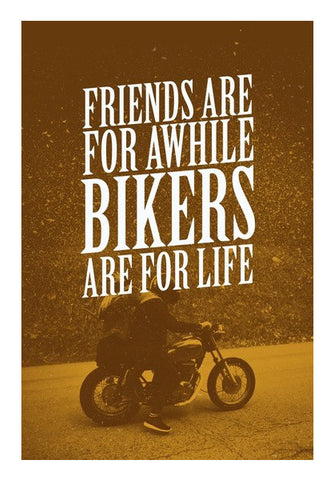 Wall Art, Bikers For Life Wall Art | Artist : Throttlerz Group, - PosterGully