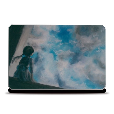 Clouds Laptop Skins | Artist : Sukanya Chakraborty