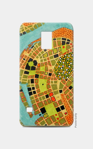 Samsung S5 Cases, imaginary map of Koblenz Samsung S5 Cases | Artist : federico cortese, - PosterGully