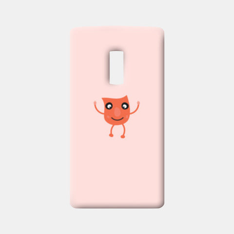 Little orange cartoon vector design One Plus Two Cases | Artist : Mani Selvam