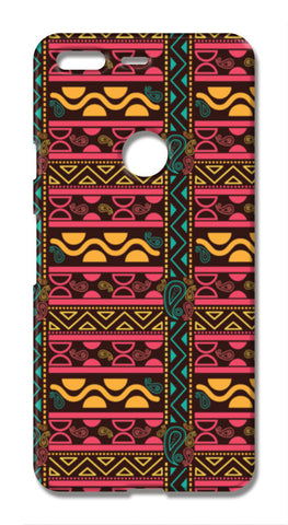 Abstract geometric pattern african style Google Pixel XL Cases | Artist : Designerchennai