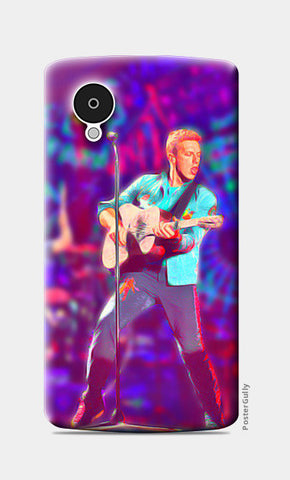 Chris Martin from Coldplay Nexus 5 Cases | Artist : Ayushi Jain