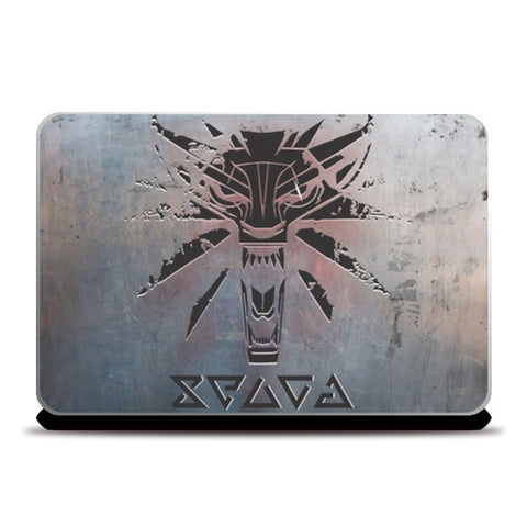 Witcher the wild hunt Laptop Skins | Artist : Gauri Deshpande