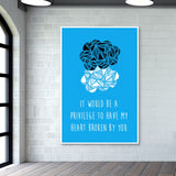 The Fault in our Stars Giant Poster | Artist : Shrishti Chouhan