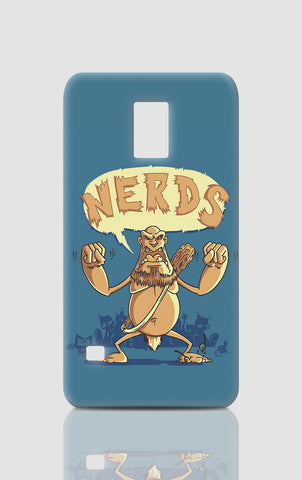 Samsung S5 Cases, Ogre Hates Nerds Blue Samsung S5 Case | By Captain Kyso, - PosterGully