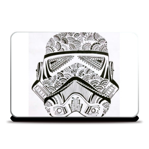storm trooper Laptop Skins | Artist : All the randomness