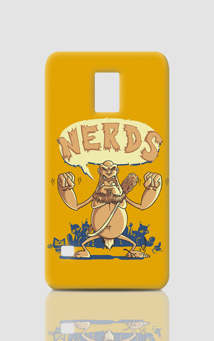 Samsung S5 Cases, Ogre Hates Nerds Orange Samsung S5 Case | By Captain Kyso, - PosterGully